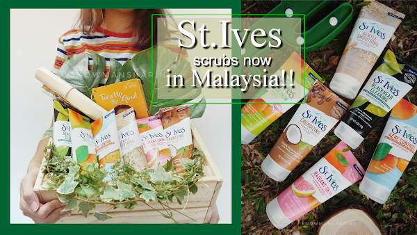 St. Ives Face Scrubs now in Malaysia!