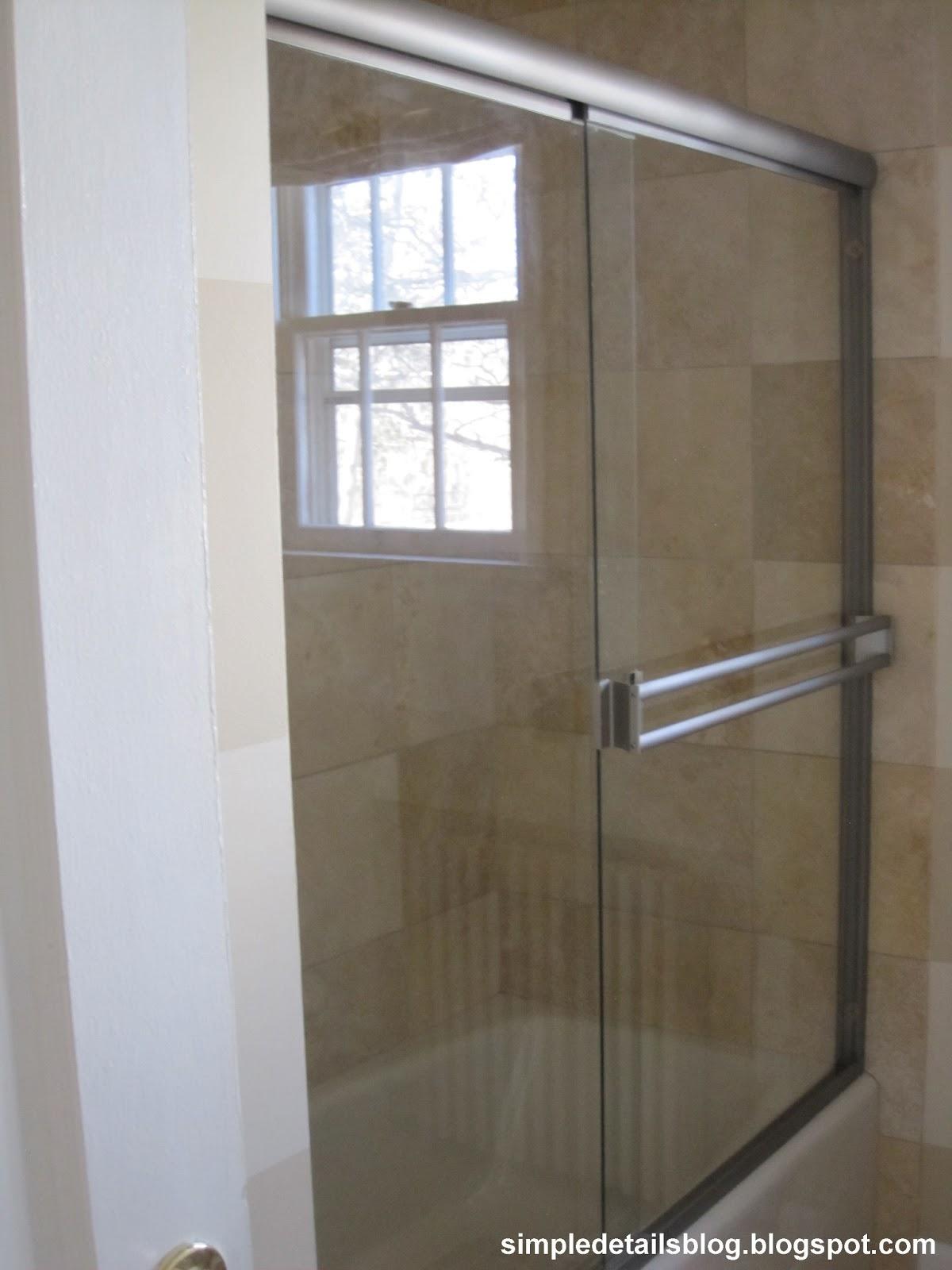 Painting Shower Door Frame Framess