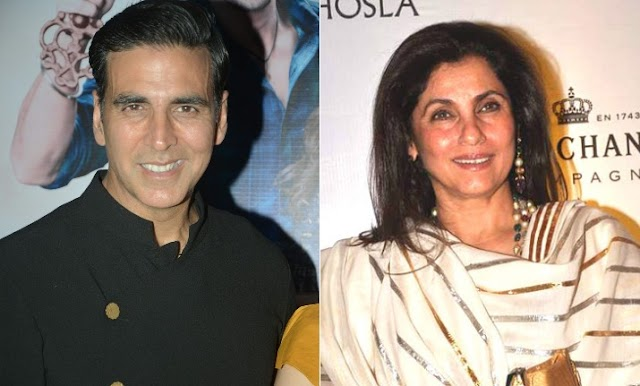 Akshay shares Photo of mother in aw Dimple dancing in Italy