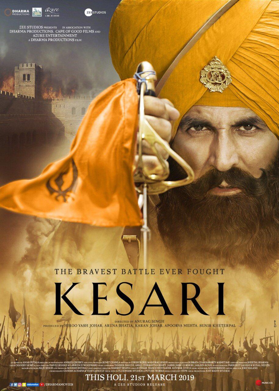 KESARI | Watch Online |Amazon Prime Video | Digital Rights | Netflix