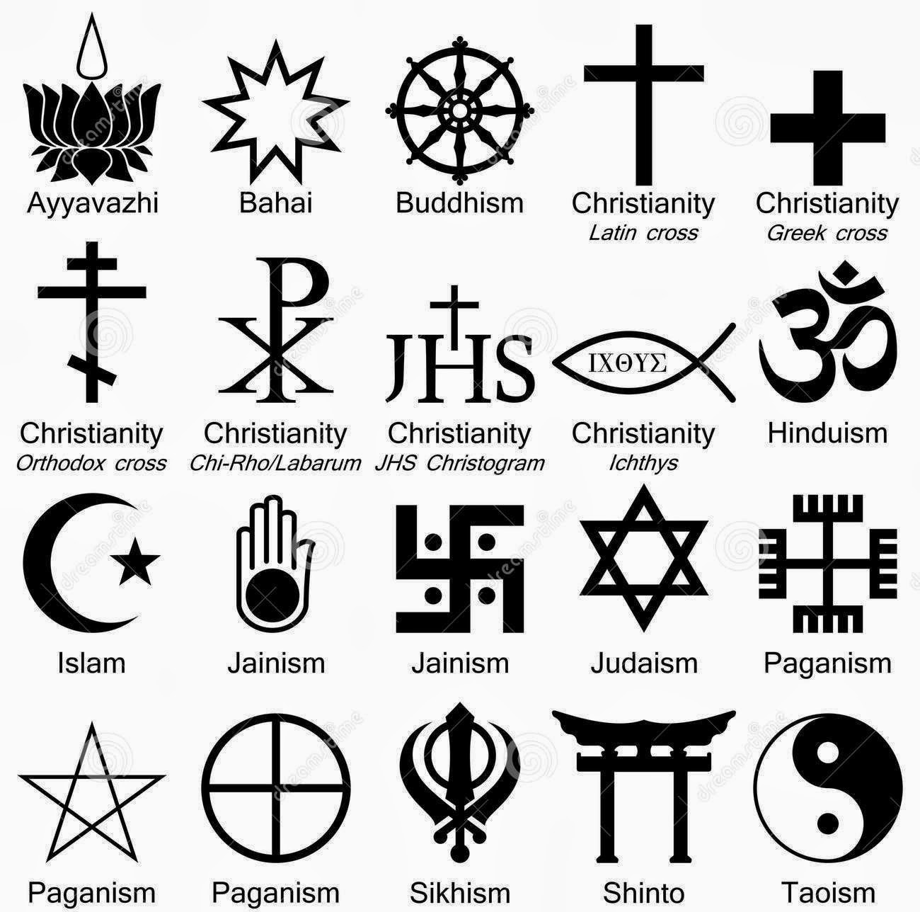 Religious symbolism and iconography