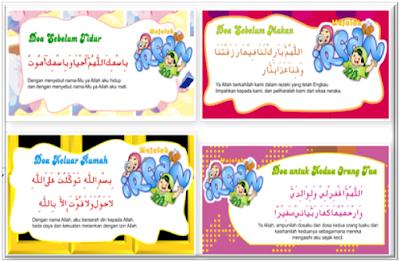 Contoh Kumpulan Doa-Doa Harian Untuk PAUD/TK