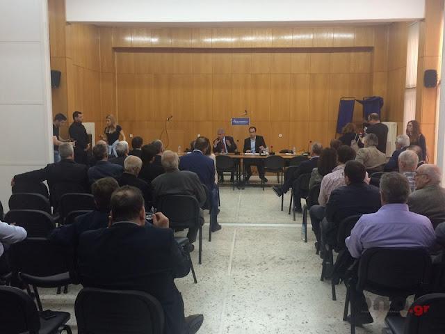 O Μ. Βορίδης από την Τρίπολη μίλησε για το εκλογικό σύστημα, την ΔΕΗ και την υπόθεση Novartis (βίντεο)