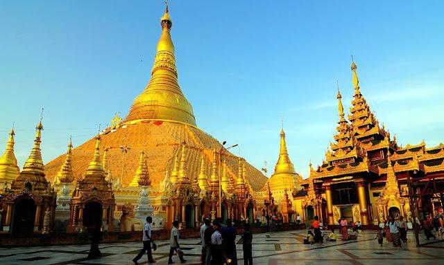 Chùa Sule - Ngôi Chùa Lâu Đời Nhất Myanmar