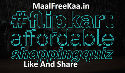 Flipkart Contest Win Free