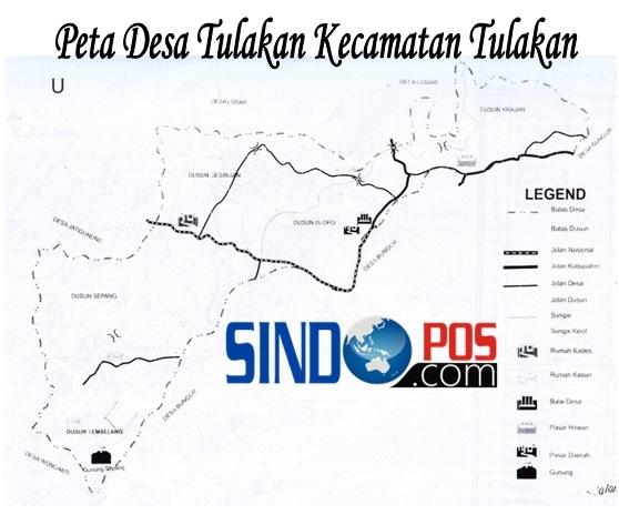 Profil Desa & Kelurahan, Desa Tulakan Kecamatan Tulakan Kabupaten Pacitan
