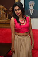 Akshita super cute Pink Choli at south indian thalis and filmy breakfast in Filmy Junction inaguration by Gopichand ~  Exclusive 065.JPG