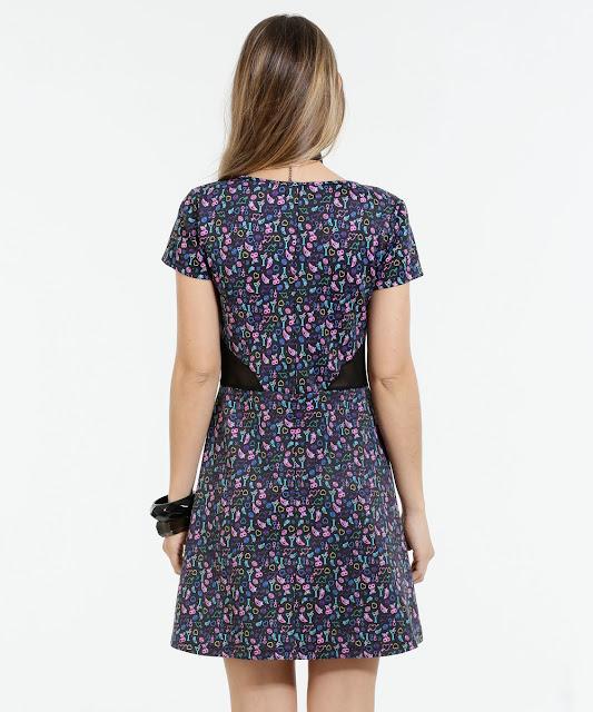 O vestido com comprimento médio é ideal para os mais variados tipos de ocasiões e podem ganhar um toque a mais de feminilidade e estilo
