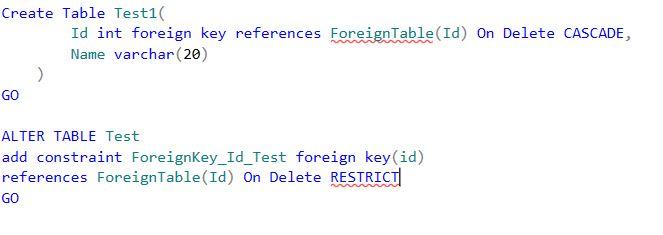 Mysoftwarecareer adding constraints - Alter table add foreign key ...