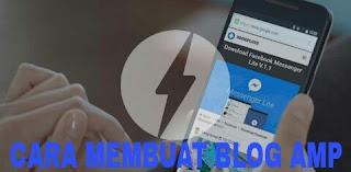 cara mudah membuat blog amp