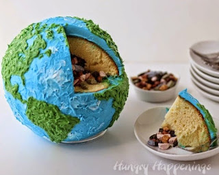 Maximizing Progress Edible Planets Spherical Concentric Layer Cake