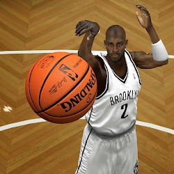 NBA 2k14 HD Spalding Ball Mod - Light Orange