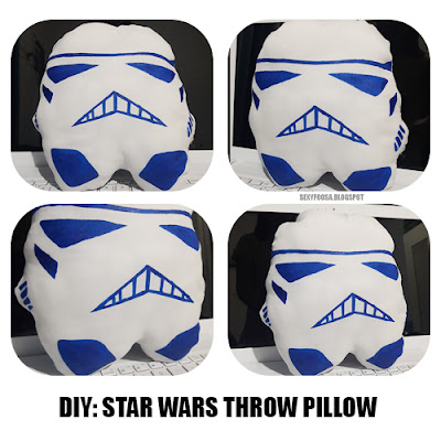 do it yourself star wars storm trooper pillow sexyfoosa sew