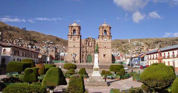 De turismo en Puno, Perú
