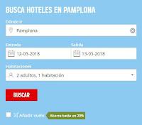Hotel Pamplona San Fermín 2018