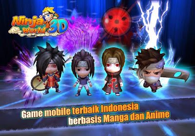 Naruto Ninja World 3D Pro MOD Full Unlocked v2.1.17 Apk Terbaru Updated