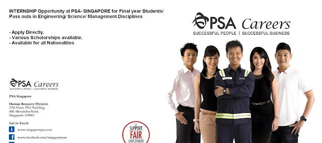 internship in singapore for international students, internship in Singapore for freshers and students, Singapore Internship