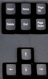 Navigation keys