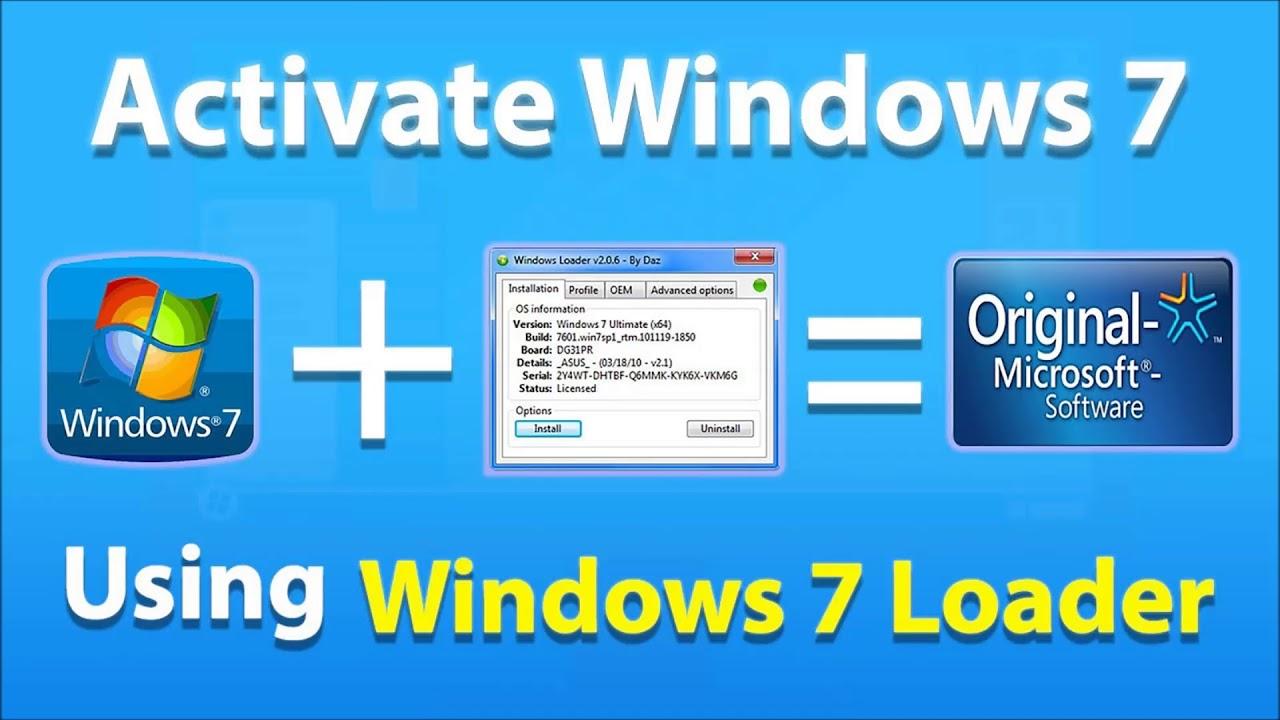 windows loader activator
