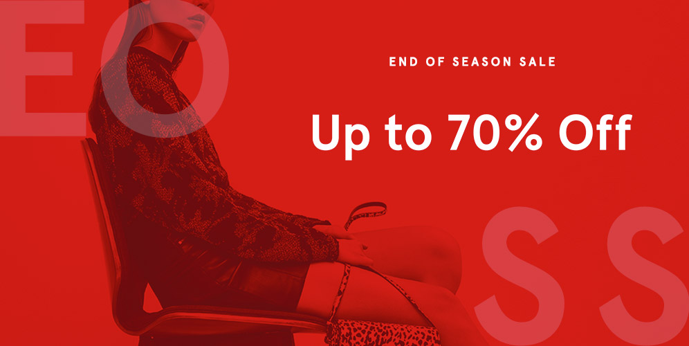 #Zalora - Promo End Of Season Sale Up to 70% Sale