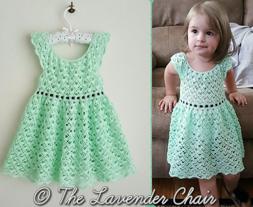 Gemstone Lace Dress - Free Pattern