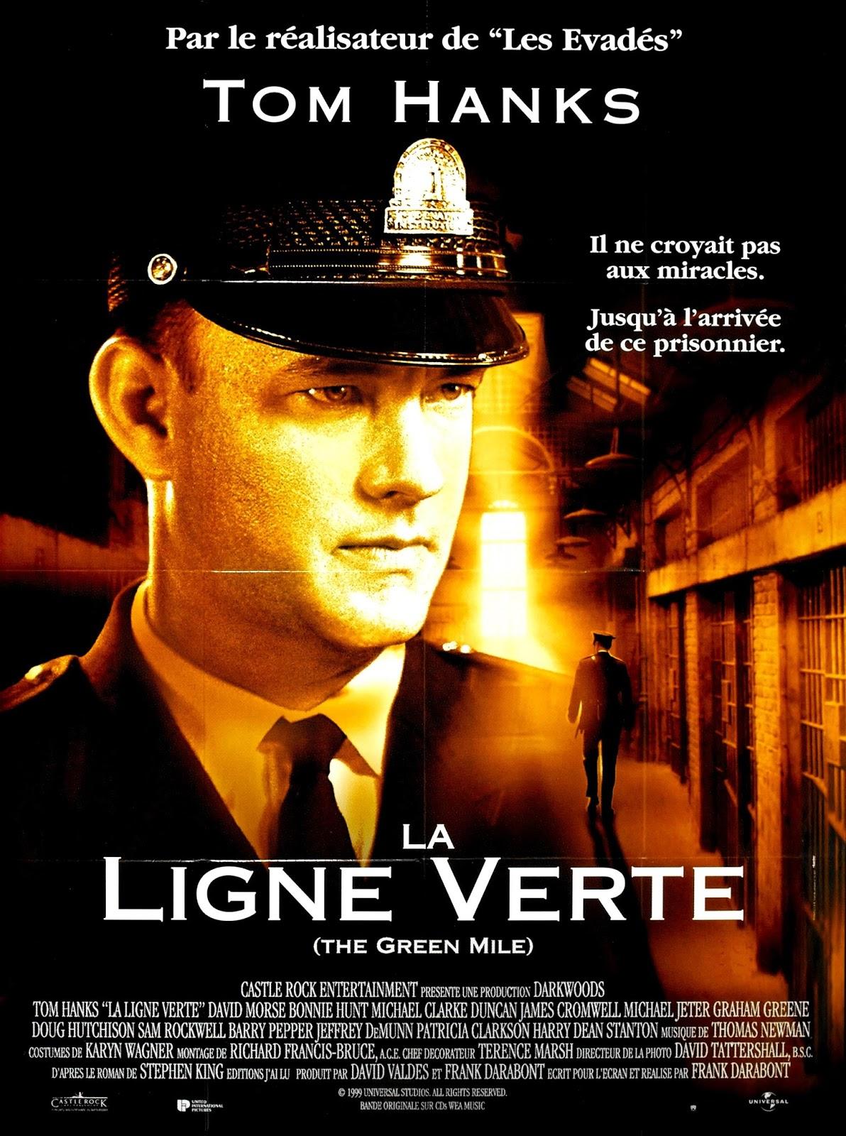 Affiches Photos D Exploitation Bandes Annonces La Ligne Verte 1998 Frank Darabont The Green Mile