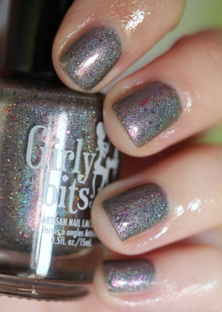 Girly Bits Steely Resolution January 2017 CoTM nail polish