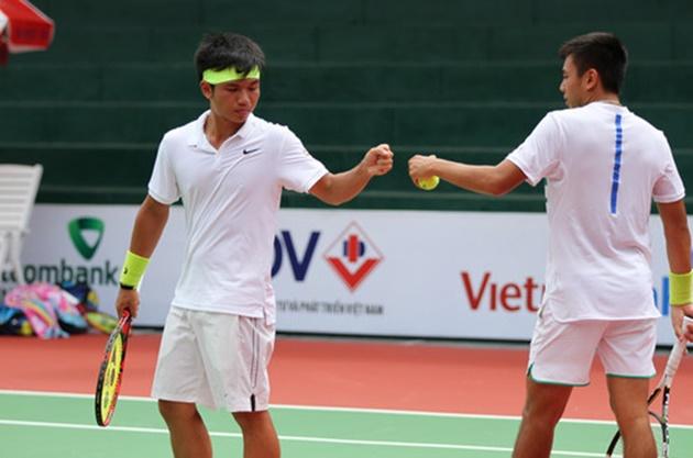 Hoàng Nam và Hoàng Thiên thẳng tiến vào bán kết F7 Futures