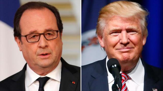 Hollande a Trump: acuerdo nuclear con Irán debe ser respetado
