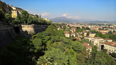 Image of Bergamo: View west from Porta San Giacomo.