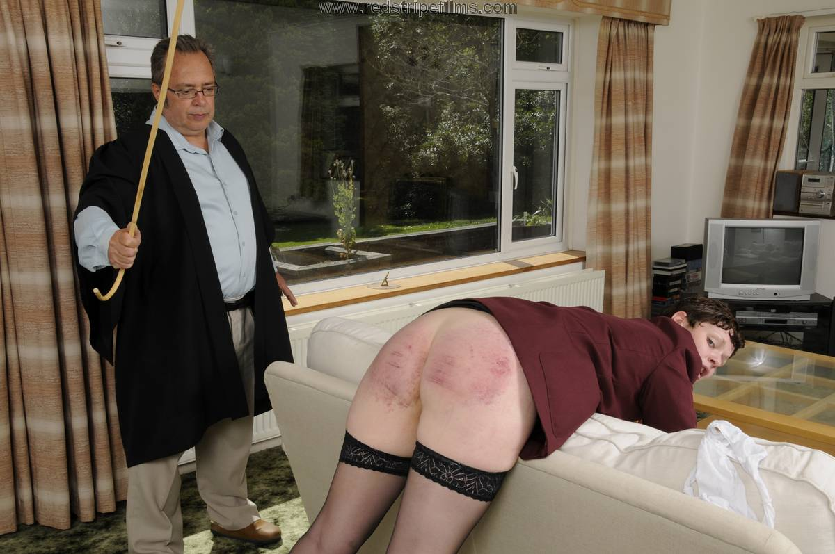 image Nice tattooed girl caned