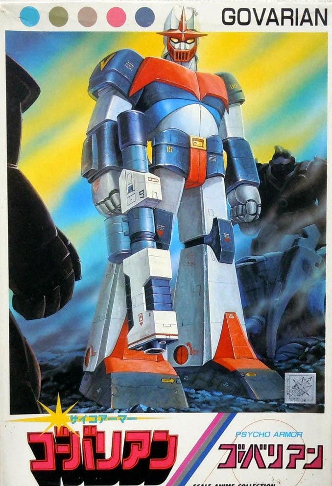 Tutti i robot giapponesi degli anime parte iii 1981 1983