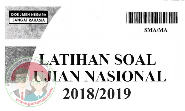 Download Soal UNBK SMA 2019 Dan Pembahasan