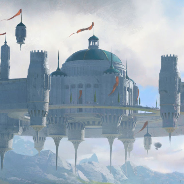 Flying Kingdom Wallpaper Engine