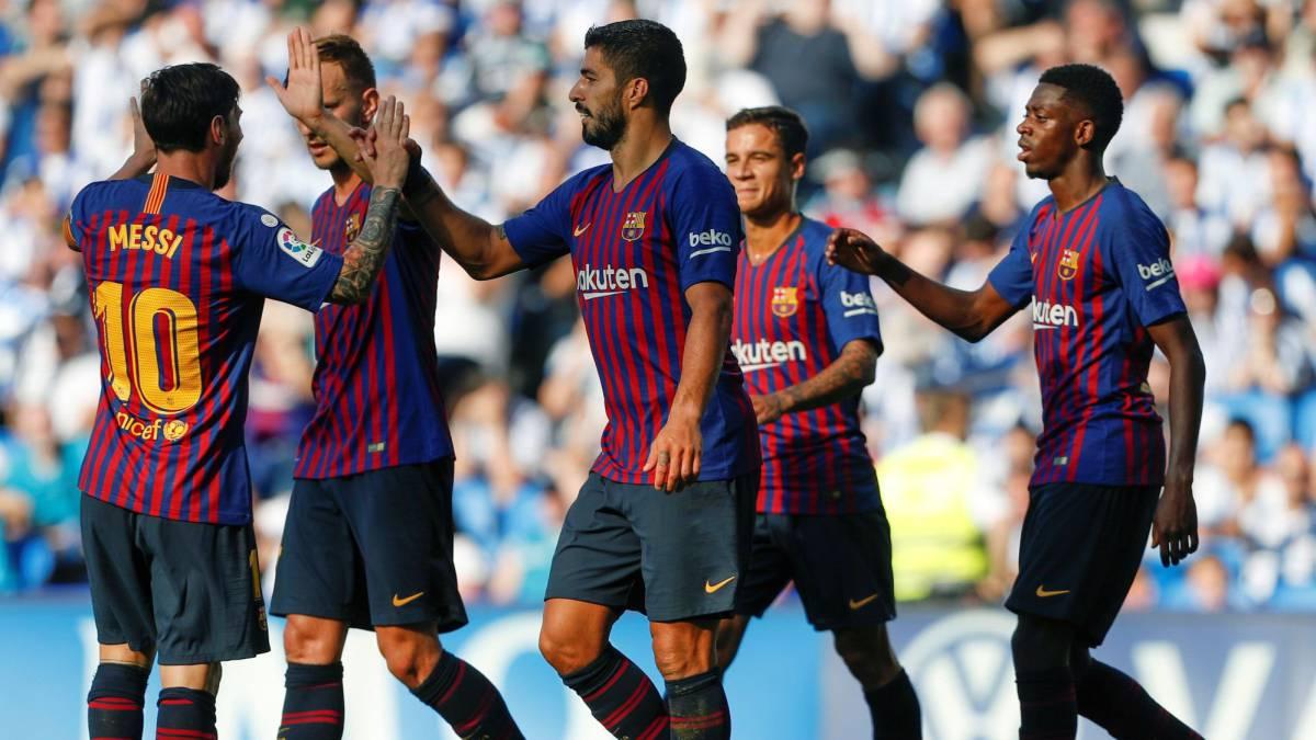 برشلونة وسيلتا فيجو ميسي اليوم 22-12-2018 الدوري الاسباني