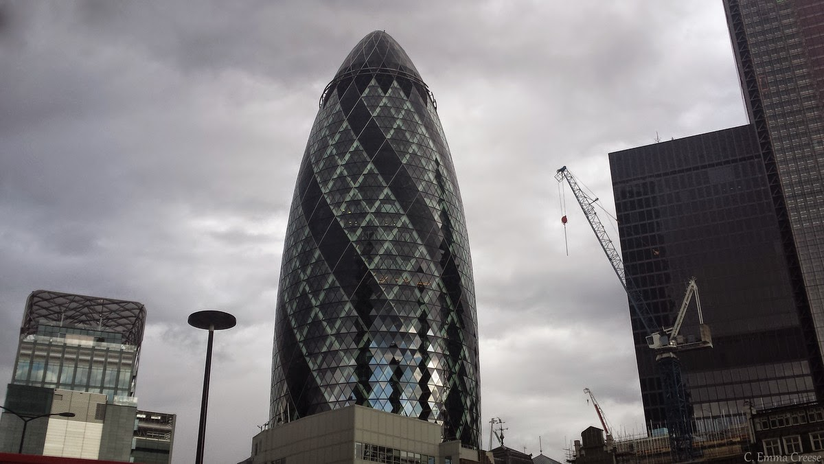 Adventures of a London Kiwi - Searcys at The Gherkin (St