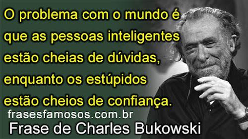 Frase de Charles Bukowski