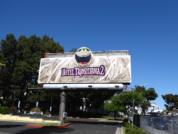 Wrap It Up Hotel Transylvania 2 billboard