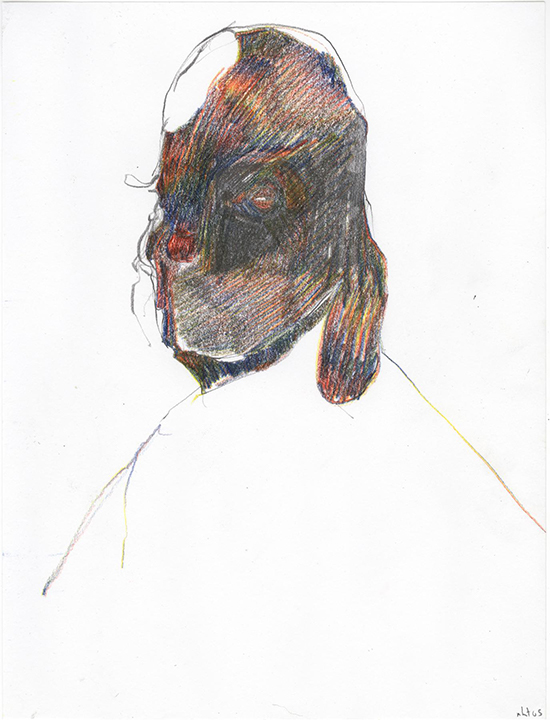 Nicola Tyson, contemporary drawing