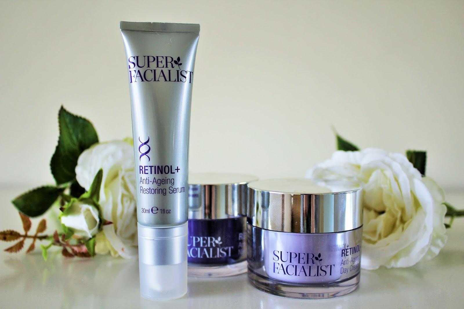 Super Facialist Retinol+ Anti-Ageing Skincare Range - 1
