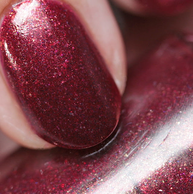 Leesha's Lacquer Cool as a Cranberry