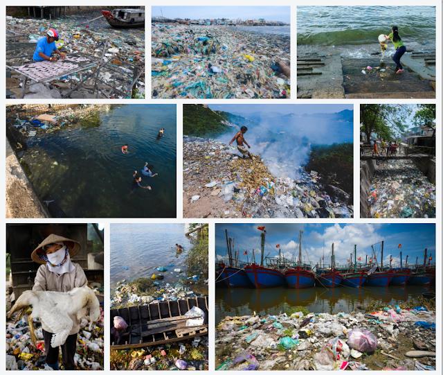 Ám ảnh với những hình ảnh rác bao phủ khắp các bờ biển của Việt nam