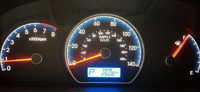 Konsol Meter Dashboard Lampu Amaran Tekanan Minyak Enjin