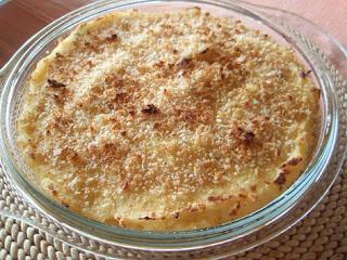 pastel de patata y salmón