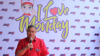 JNE Usung  Program I Love Monday untuk Generasi Millenial