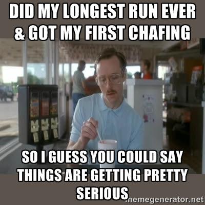 When Running Rubs You the Wrong Way