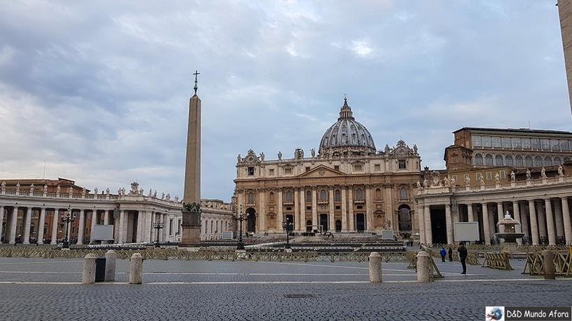 Praça São Pedro - Como ver o papa no Vaticano