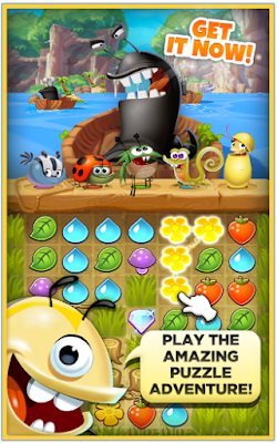 Cara Cheat Best Fiends Puzzle Adventure Mod Apk
