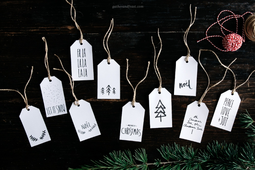 FREE GIFT TAGS FOR CHRISTMAS I