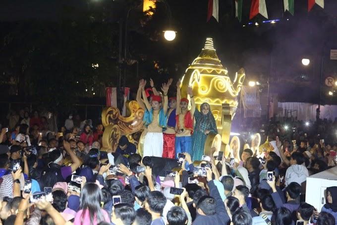 Bandung Light Festival Tutup Peringatan HJKB Ke-208